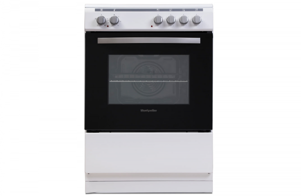 Montpellier 60cm White Electric Cooker