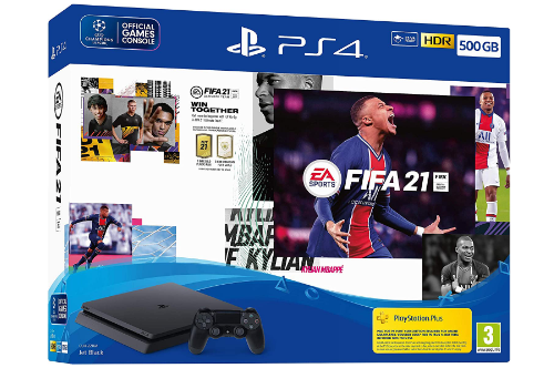 PS4 500GB Fifa 2021 & 1 Controller
