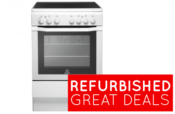 Refurbished Indesit 60cm Electric Cooker