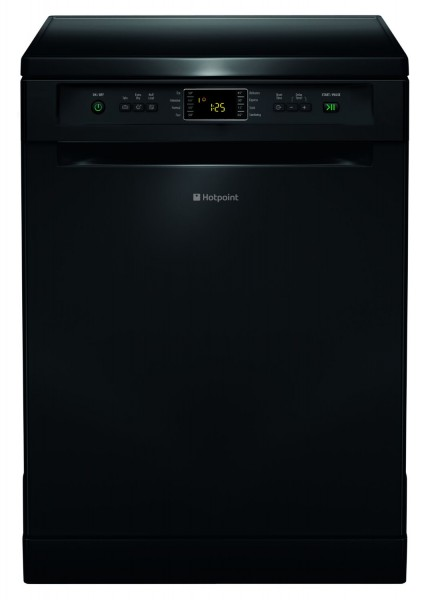 Hotpoint 8 Programme Black Dishwasher