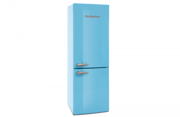 Montpellier 60cm Blue Fridge Freezer