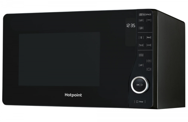 Hotpoint Ultimate Collection Flatbed Microwave Oven With Grill