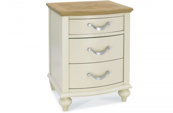Freya 3 Drawer Nightstand