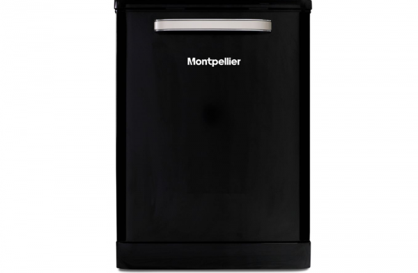 Montpellier 9 Programme Black Dishwasher