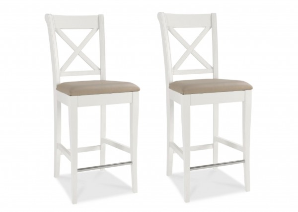 Melody X-Back Bar Stool Pair