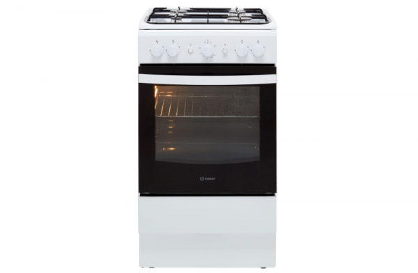 Indesit 50cm White Gas Cooker