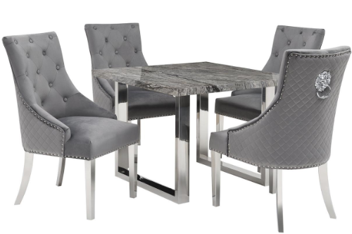Destiny 4 Chair Dining Set