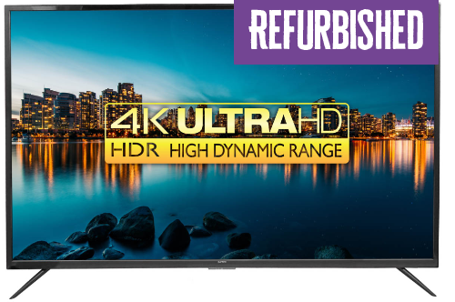 "Refurbished Qantec 55"" Smart UHD TV"