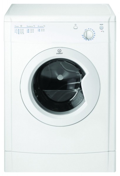 Indesit 7kg White Vented Tumble Dryer IDV75