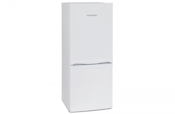 Montpellier 54cm Low White Fridge Freezer