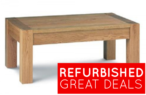 Refurbished Lyon Oak Coffee Table