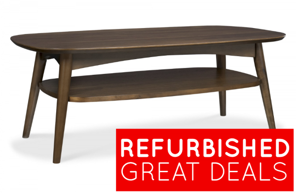 Refurbished Oslo Walnut Coffee Table