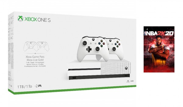 Xbox One S 1TB 2 Controller Bundle