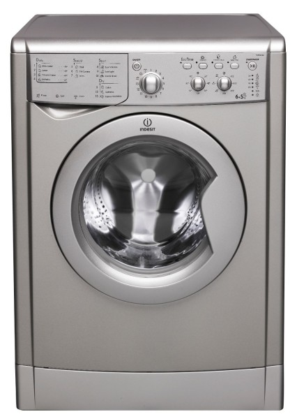 Indesit 6+5kg Silver Washer Dryer