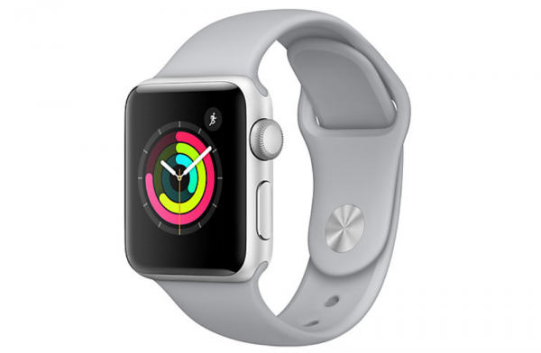 Apple Watch Series 3 GPS silver white Refurbished