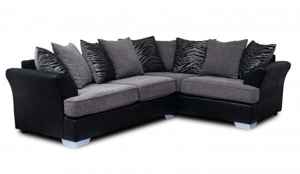 Quartz Grey Corner Sofa