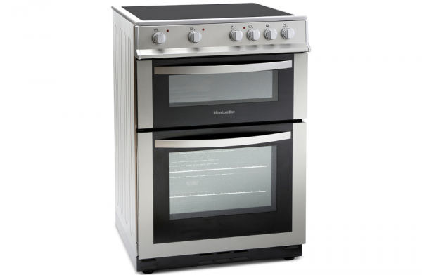 Montpellier 60cm Silver Electric Cooker