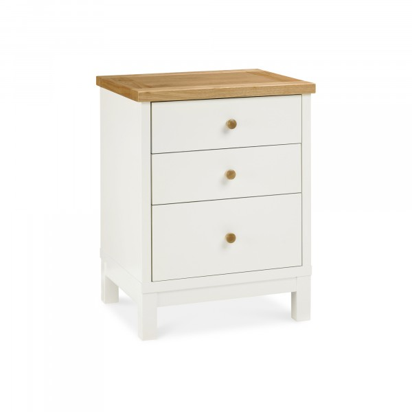 Arlo 3 Drawer Bedside Table