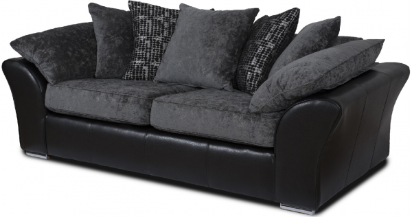 Grayson Grey 3 Seater Sofa