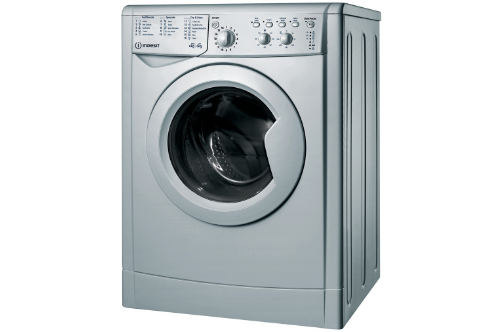 Indesit 6kg + 5kg Silver Washer Dryer IWDC65125SUKN