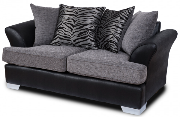 Quartz Grey 2 Seater Sofa