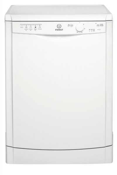 Indesit 5 Programme White Dishwasher