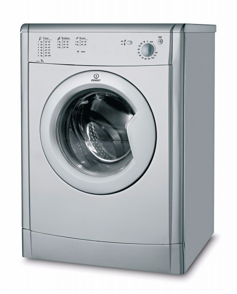 Indesit 7kg Silver Vented Tumble Dryer