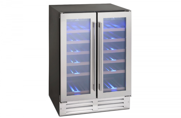 Montpellier 38 Bottle Dual Zone Wine Cooler