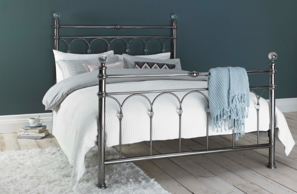 "Krystal 4'6"" Bed Frame"