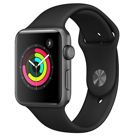 Apple Watch 3 Series 38mm GPS Space Gry