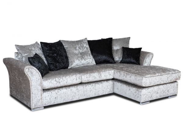 Dream Silver Chaise