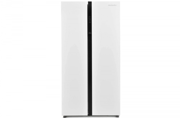 Montpellier 90cm White American Fridge Freezer M510BW
