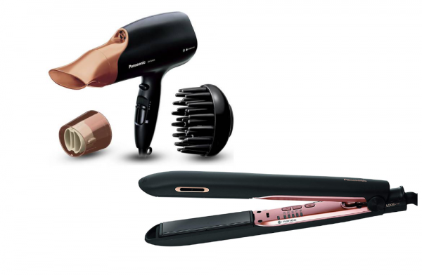 Panasonic Nanoe Rose Gold Hair Bundle