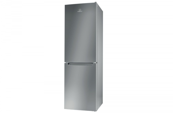 Indesit 60cm Silver Fridge Freezer