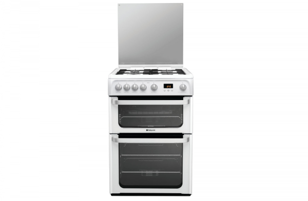 Hotpoint HUG61P 60cm Gas Cooker