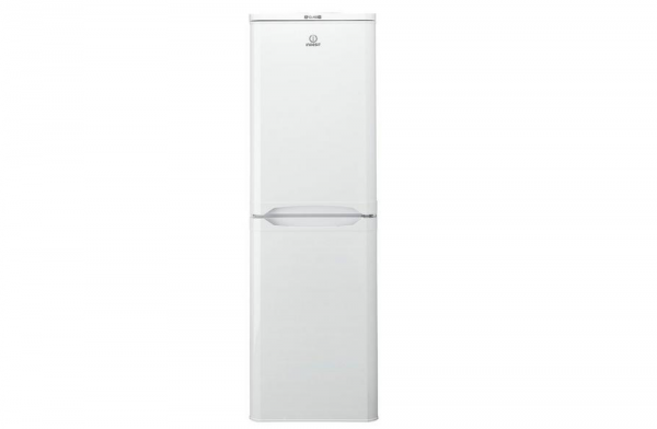 Indesit 55cm White Fridge Freezer