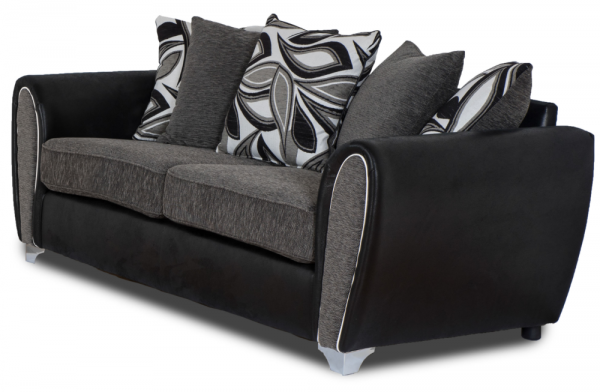 Autograph Grey 3 Seater Sofa