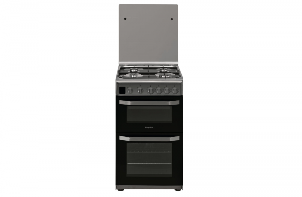 Hotpoint 50cm Stainless Steel Gas Cooker