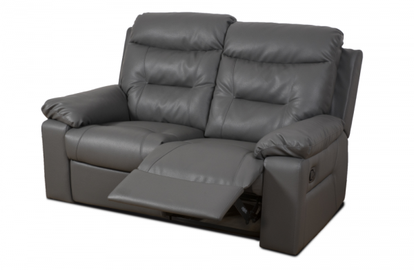 Maxwell Grey 2 Seater Recliner