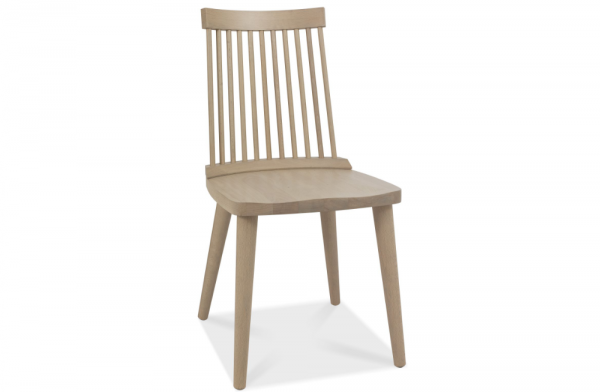 Olivia Spindle Chair Oak Pair