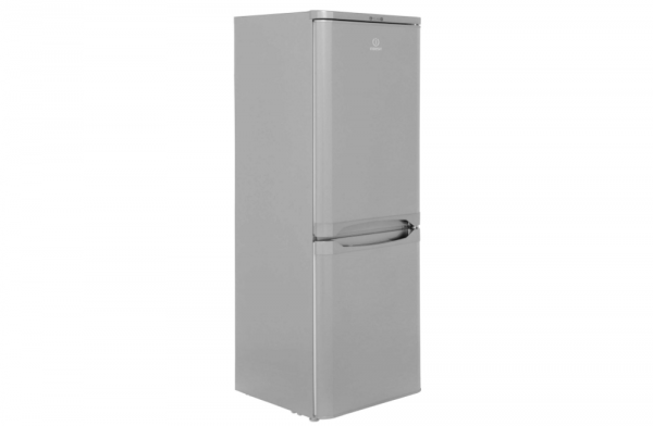 Indesit 55cm Silver Fridge Freezer