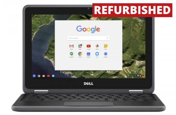 "Refurbished Dell 11.6"" Chromebook"