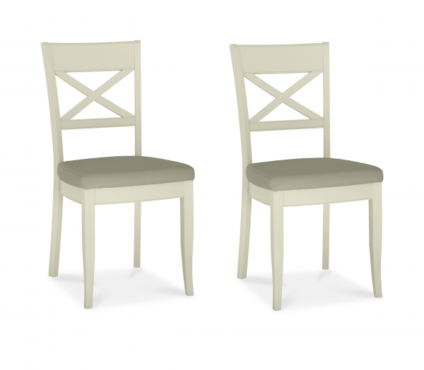 Chloe Oak Chair Pair