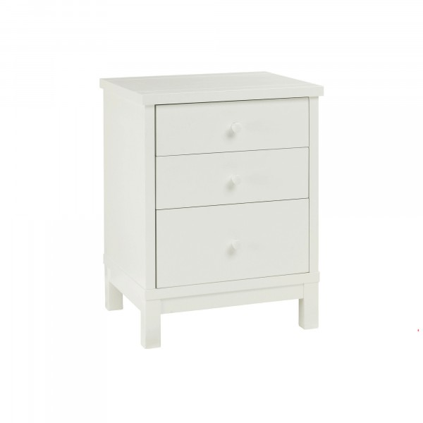 Warrick 3 Drawer Bedside Table
