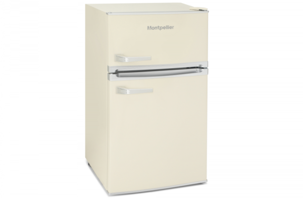 Montpellier Mini Retro Cream Fridge Freezer MAB2031C
