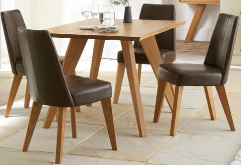 Victoria 4 Chair Dining Set