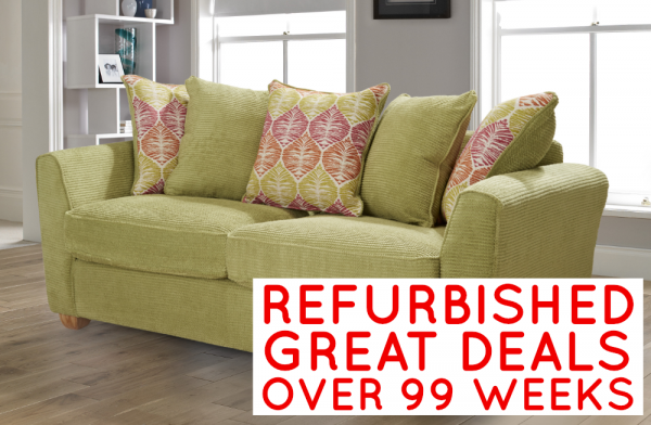 Refurbished Florence 3 Seater Sofa