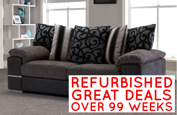 Refurbished Catalina 3 Seater Sofa