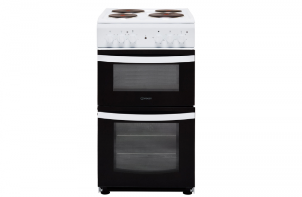 Indesit 50cm White Electric Cooker