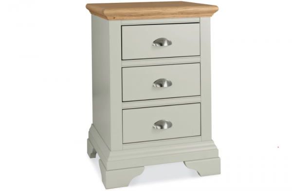 Alice 3 Drawer Nightstand